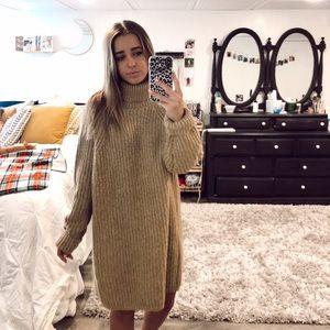 Golden Sweater Dress!!